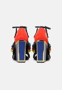 Kat Maconie - AYA - High heeled sandals - black/multi - 3