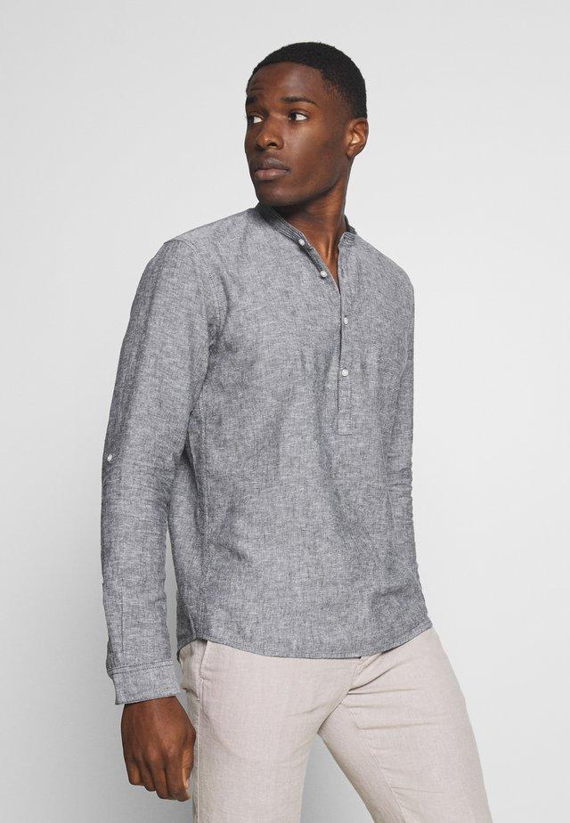 MIX TUNIC - Shirt - black