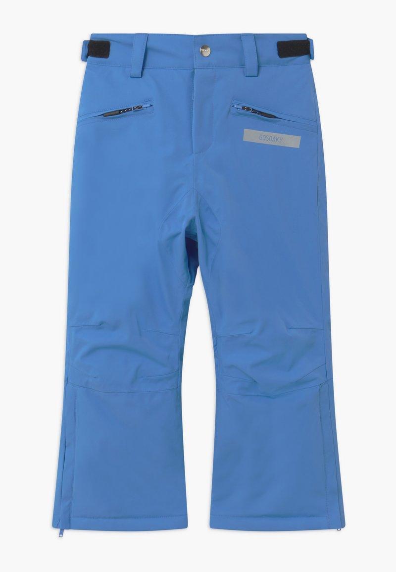 Gosoaky - BIG BAD WOLF UNISEX - Snow pants - marina blue