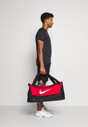 M DUFF 60L UNISEX - Bolsa de deporte - university red/black/white