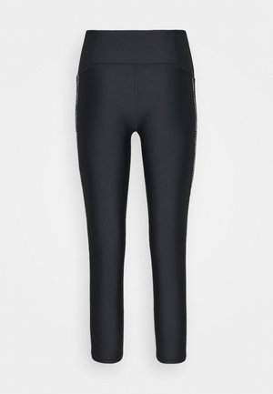 ANKLE CROP - Tights - black