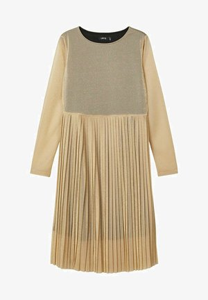 Day dress - gold colour