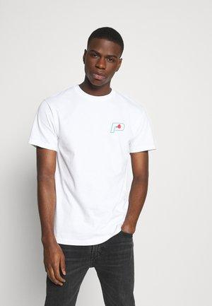 PARADE TEE - Print T-shirt - white