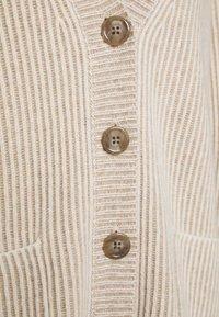Repeat - CARDIGAN - Vest - sand/cream - 2