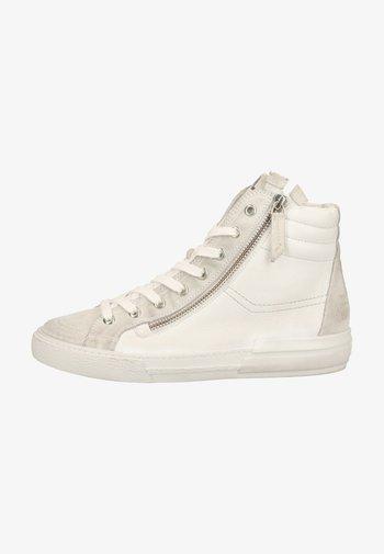 Baskets montantes - weiß 017