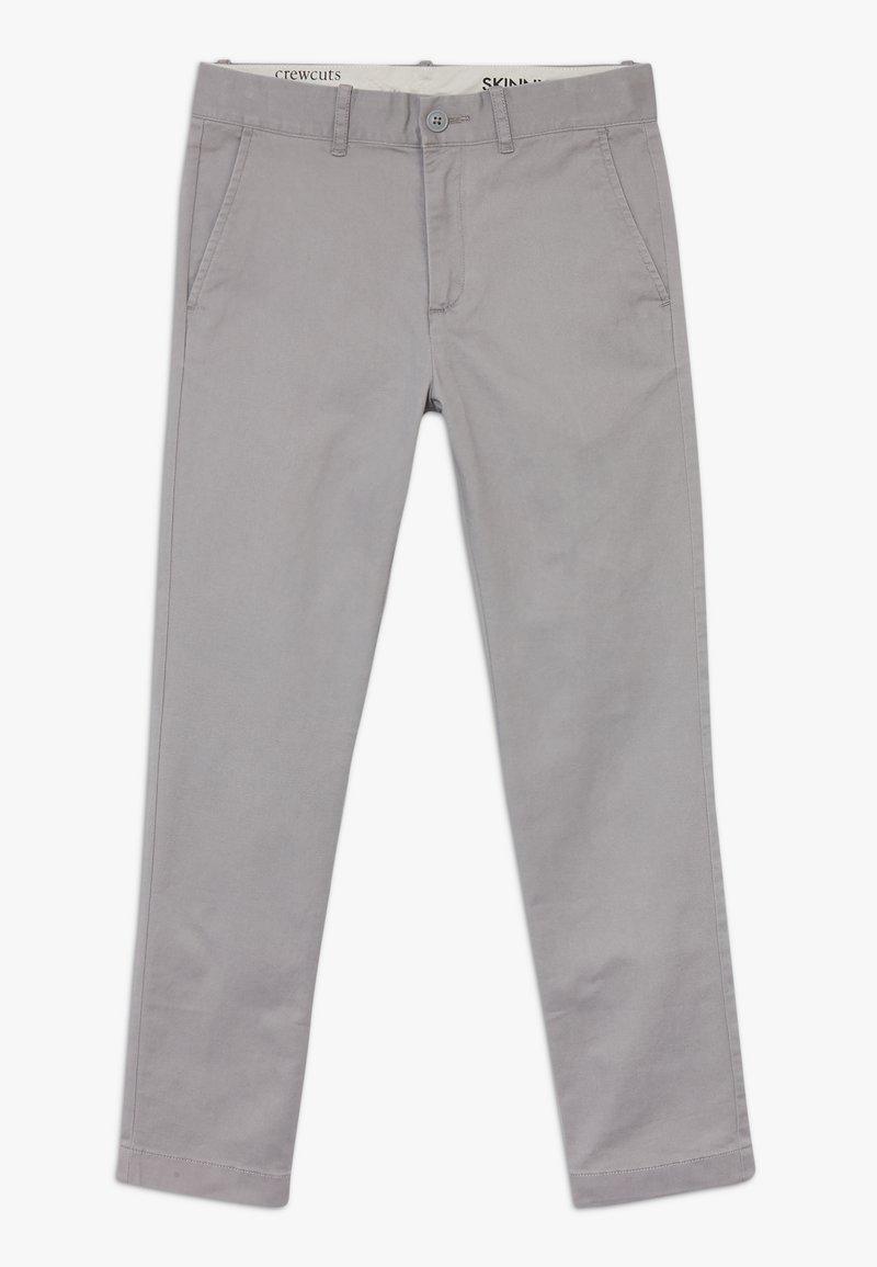 J.CREW - Chino kalhoty - chrome
