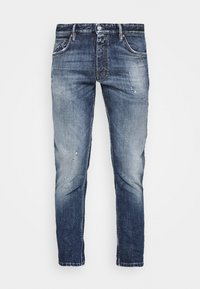 CLOSED - DROP CROPPED - Zúžené džíny - mid blue - 0