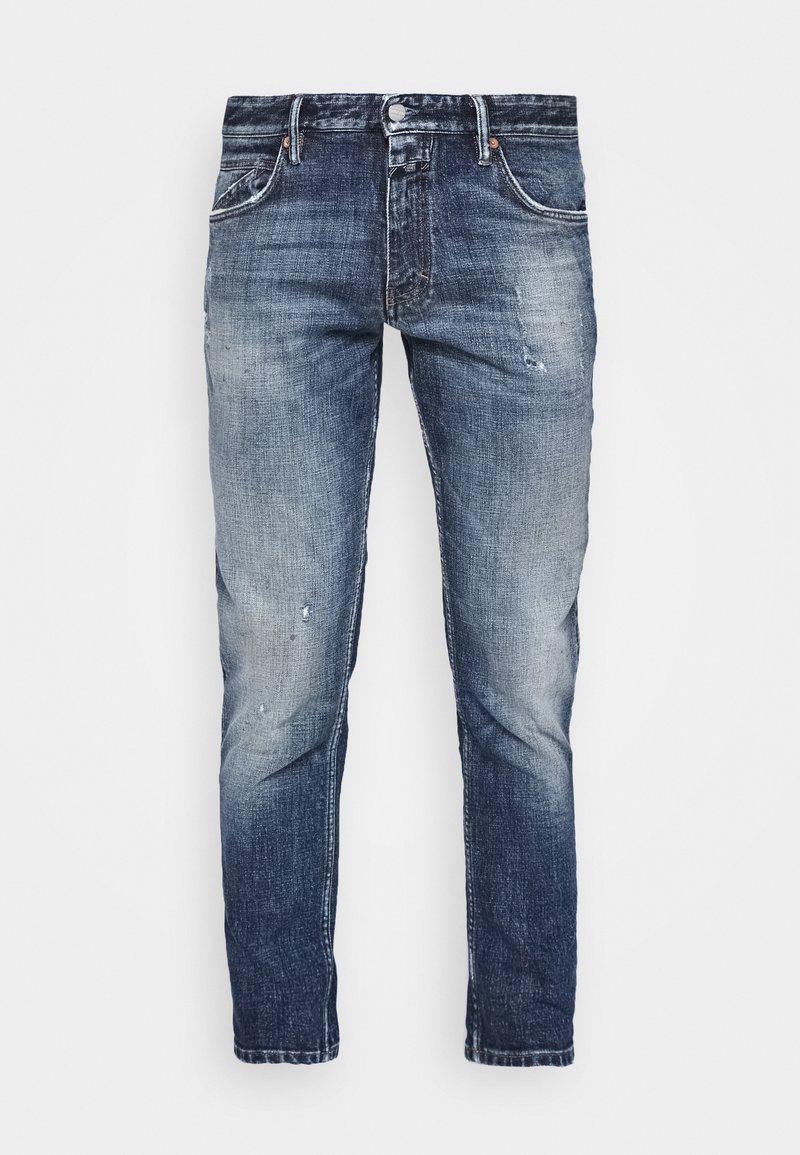 CLOSED - DROP CROPPED - Zúžené džíny - mid blue