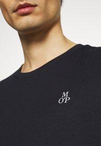 Marc O'Polo - SHORT SLEEVE - T-paita - shirt dark blue - 5