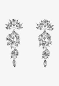 Pieces - PCMARLO EARRINGS KEY - Ohrringe - silver-coloured - 3