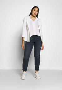 Evans - CROSS FRONT - Blouse - ivory - 1