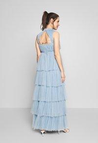 Anaya with love Maternity - HIGH NECK MAXI DRESS WITH TIERED SKIRT - Vestito estivo - cornflower blue - 2