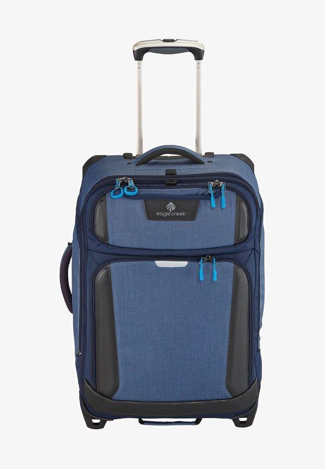 Wheeled suitcase - slate blue