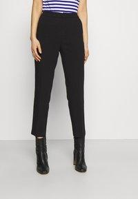 Anna Field - BASIC BUSINESS PANT SLIM LEG - Trousers - black - 0