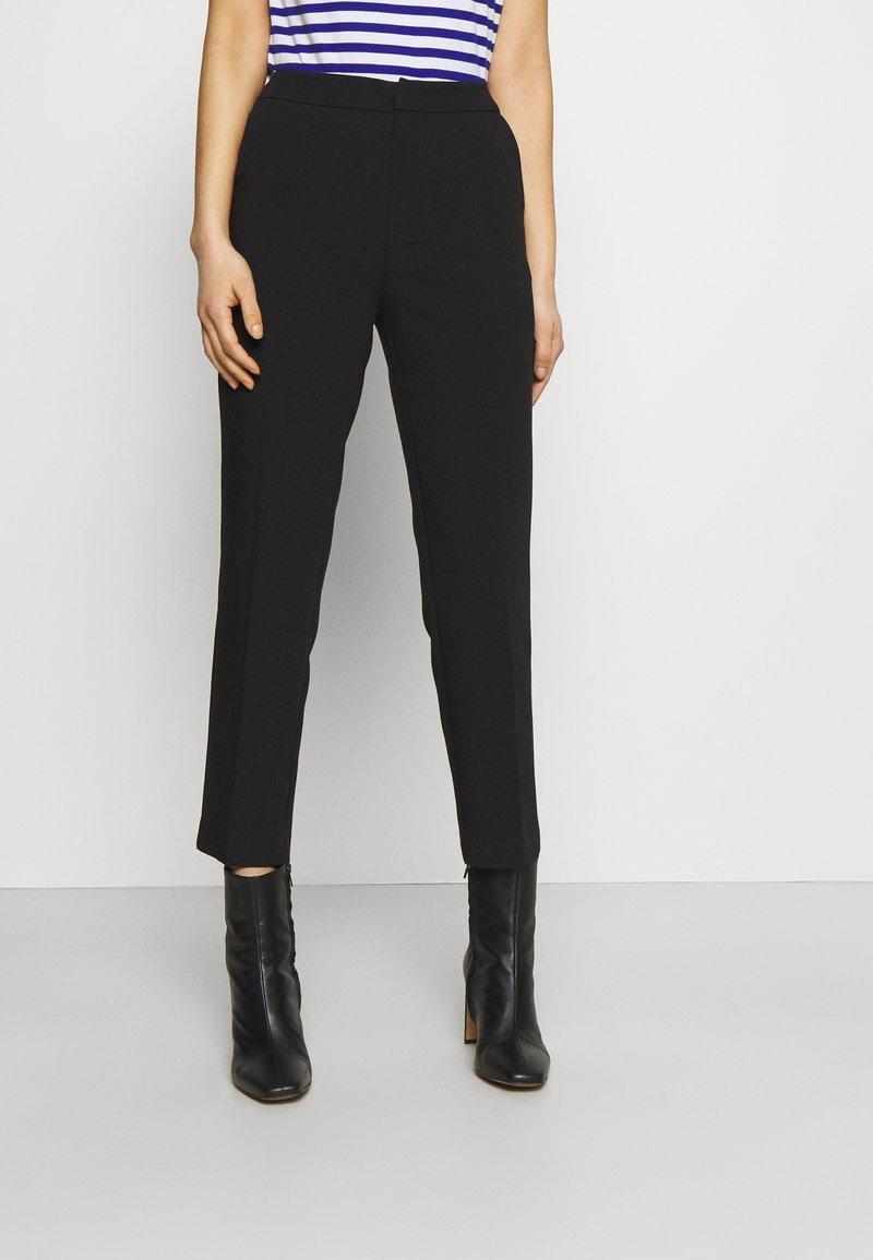 Anna Field - BASIC BUSINESS PANT SLIM LEG - Trousers - black