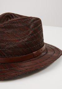 Brixton - MESSER FEDORA - Cappello - brown - 2