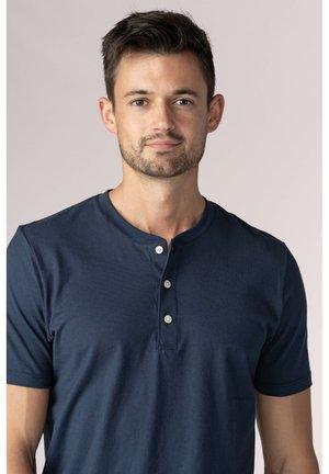 Basic T-shirt - yacht blue
