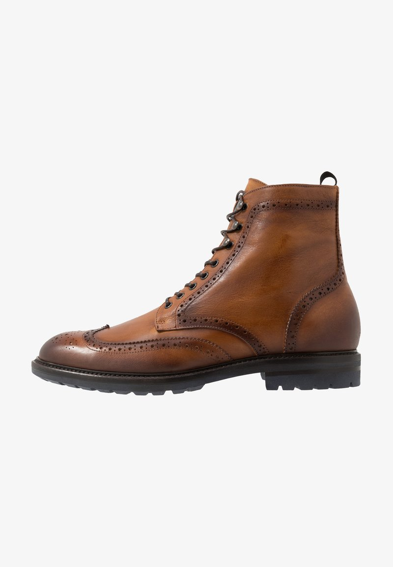 Giorgio 1958 - Lace-up ankle boots - camel