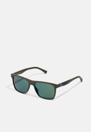 Sunglasses - green matte