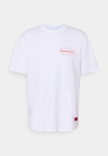 VINTAGE PIC TEE - Print T-shirt - white