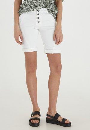 PZROSITA - Denim shorts - bright white