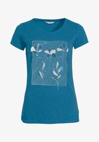 Vaude - Print T-shirt - kingfisher uni - 2