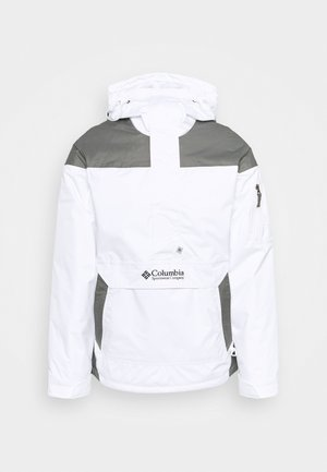 CHALLENGER - Větrovka - white/city grey