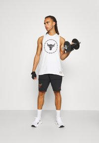 Under Armour - PROJECT ROCK TANK - Toppe - onyx white - 1
