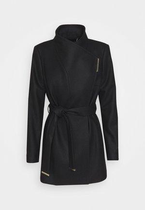 ROSESS - Classic coat - black
