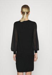 ONLY - ONLOFELIA DRESS - Neulemekko - black - 2