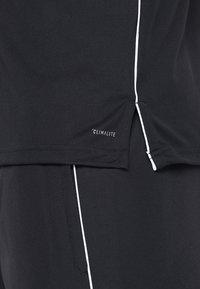 adidas Performance - CORE18 - Sports shirt - black/white - 5