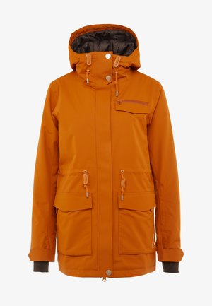 STATE PARKA - Snowboard jacket - orange