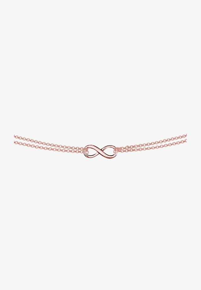 INFINITY - Necklace - roségold-coloured