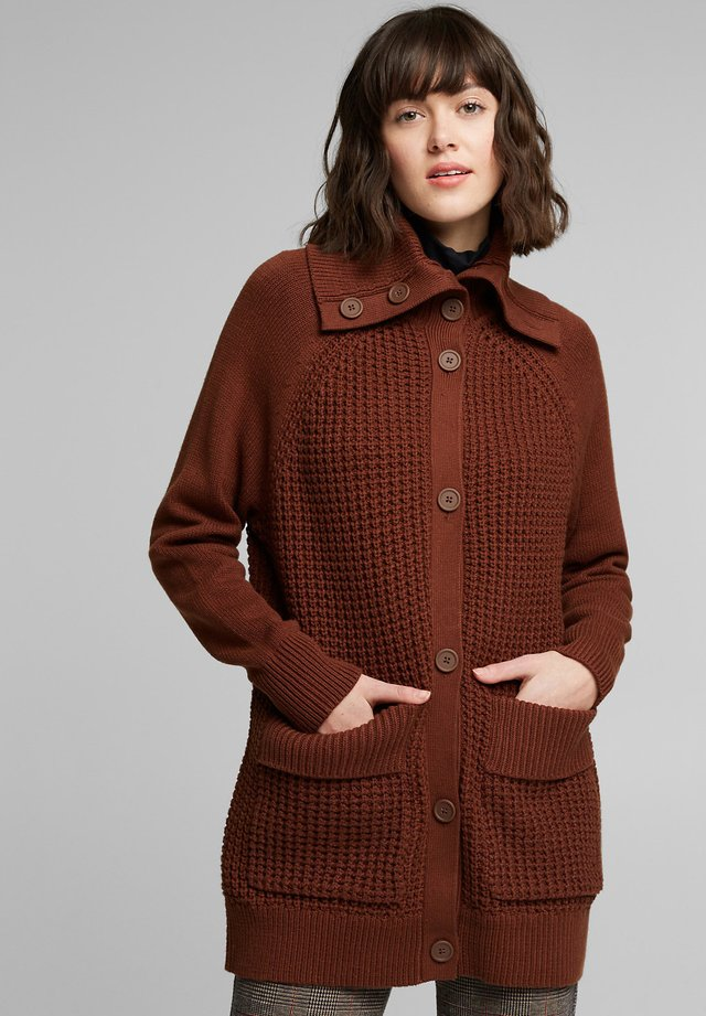 FASHION - Cardigan - brown