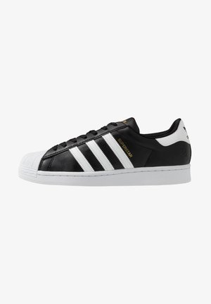SUPERSTAR VEGAN - Sneakers - core black/footwear white/gold metallic