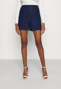 Vila - VIARAVANI - Shorts - navy blazer - 0