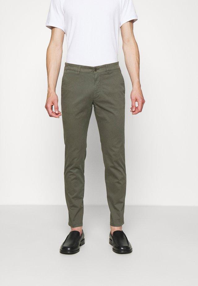 MAD - Pantalon classique - mottled olive
