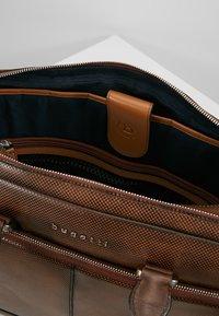 Bugatti - BRIEFBAG LARGE - Briefcase - brown - 4