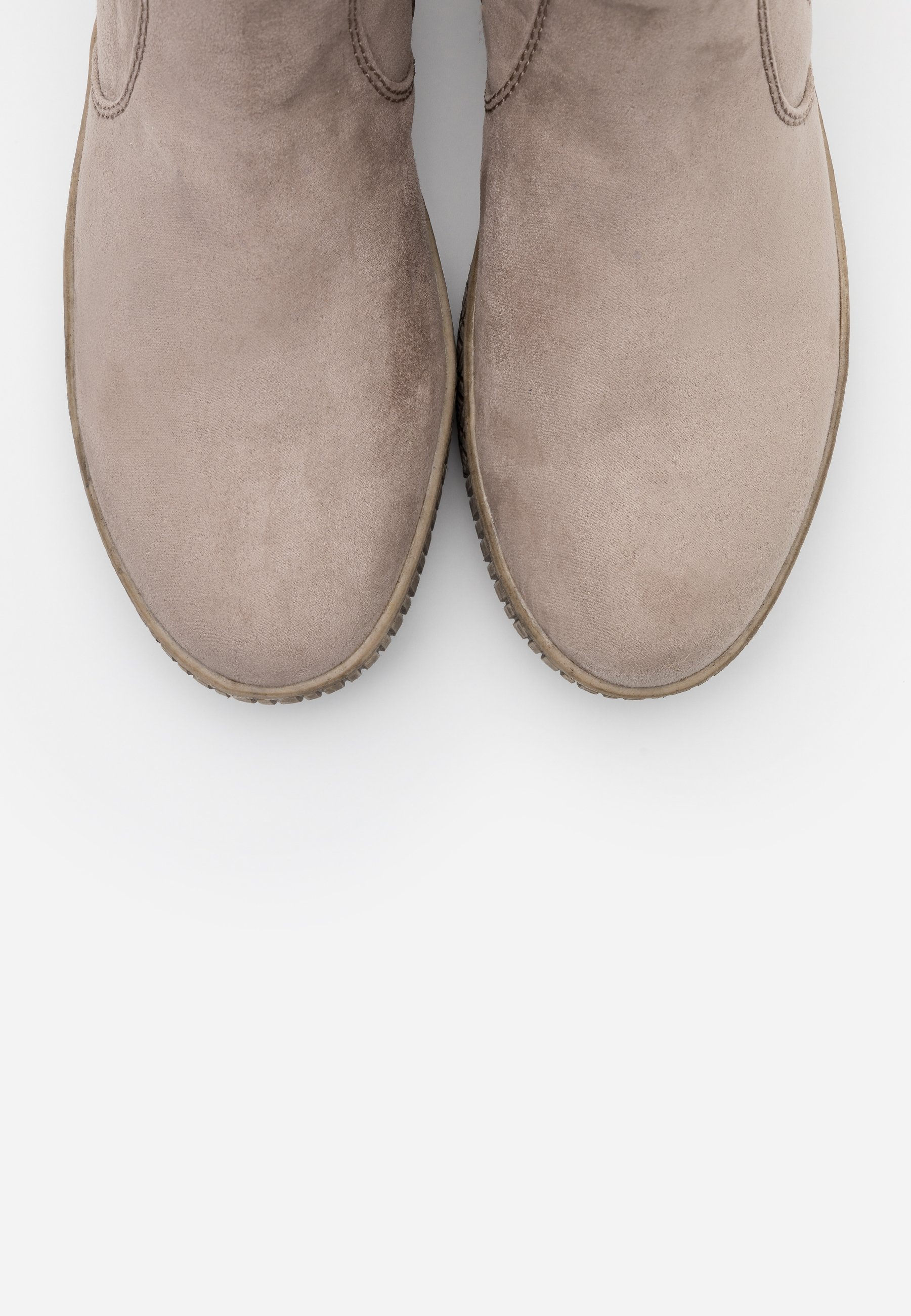 Jana Boots à talons - light grey