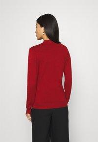 Anna Field - SCALLOP DETAIL JUMPER - Sweter - red - 2