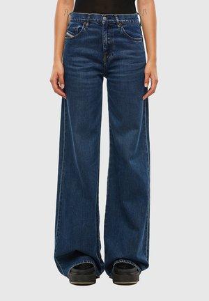 D-AKEMI - Flared Jeans - medium blue