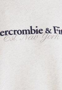 Abercrombie & Fitch - UPPER TIER LOGO CREW - Sweatshirt - grey heather - 6