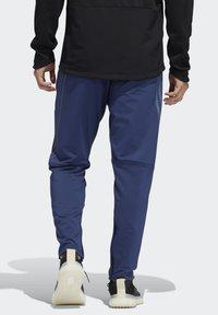 adidas Performance - Träningsbyxor - blue - 1