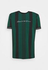 Kings Will Dream - VEDTON STRIPE TEE - T-shirt print - evergreen/black - 4