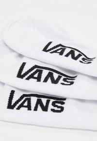 Vans - UA CLASSIC SUPER NO SHOW (6.5-9, 3PK) - Trainer socks - white - 2