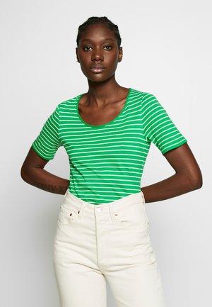 T-shirt imprimé - farngrün