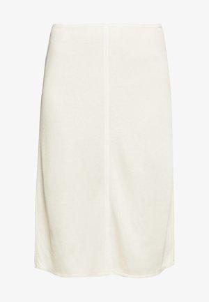 MARGARET SKIRT - Pouzdrová sukně - ivory