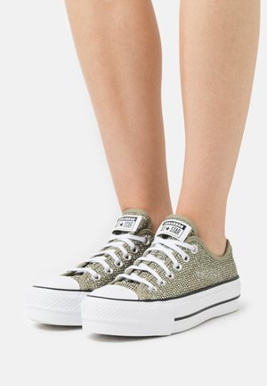 CHUCK TAYLOR ALL STAR OPEN PLATFORM - Zapatillas - light field surplus/white/black