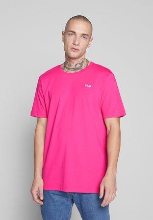 UNWIND TEE - Basic T-shirt - pink yarrow
