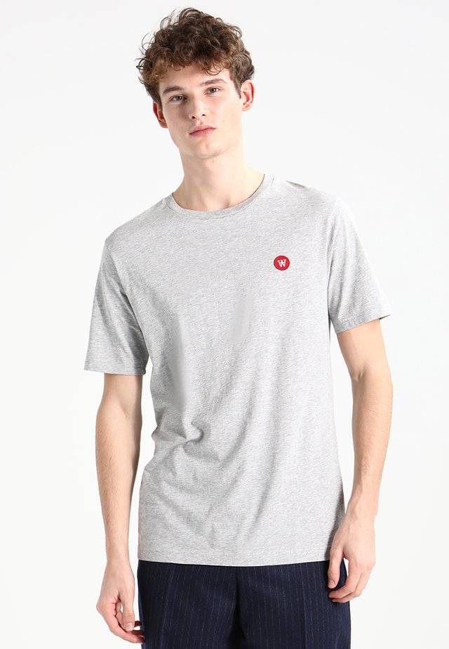 ACE - Basic T-shirt - grey melange